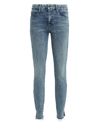 The Looker Sacred Slit Skinny Jeans, LIGHT WASH DENIM, hi-res
