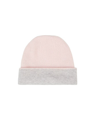 Pink Cashmere Beanie, PINK, hi-res
