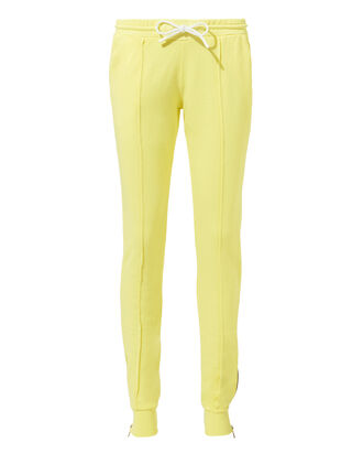 Milan Pastel Lemon Joggers, YELLOW, hi-res