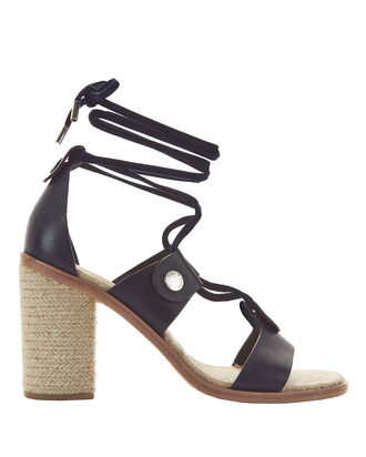 Eden Lace-Up Sandals, NAVY, hi-res