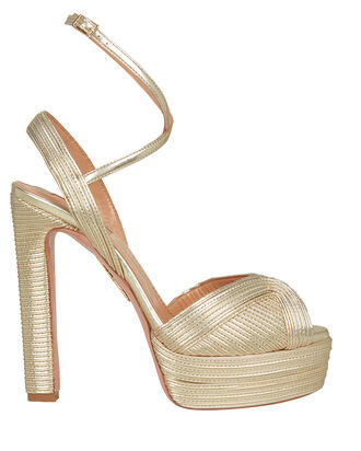 Caprice Platform Sandals, GOLD, hi-res