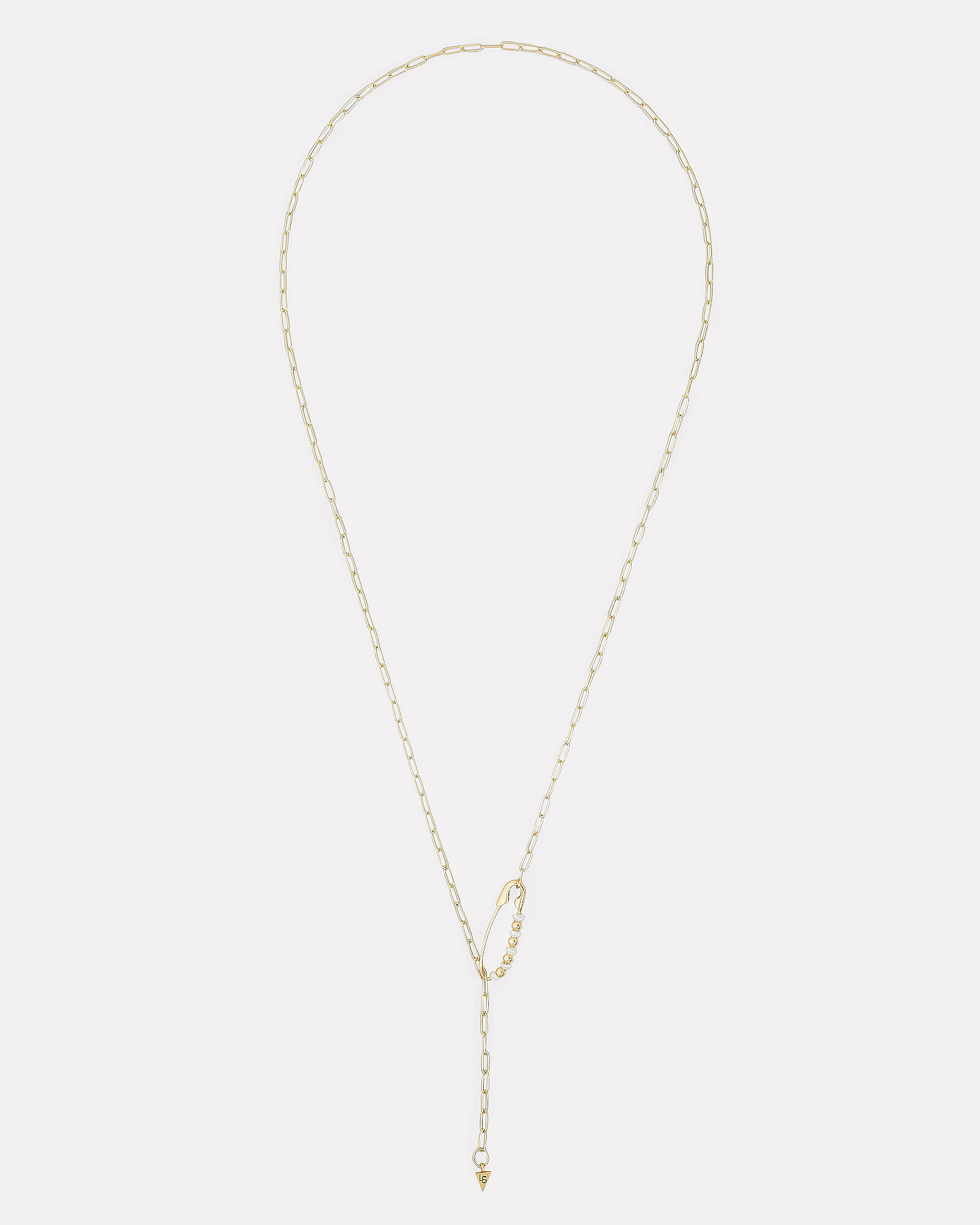 Shapeshifter Chain With Pearl Necklace, GOLD/PEARL, hi-res