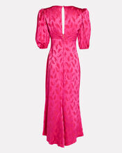 Teresa Jacquard Midi Dress, PINK-DRK, hi-res
