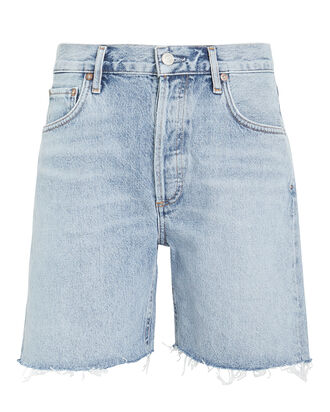 Rumi Denim Shorts, LIGHT WASH DENIM, hi-res