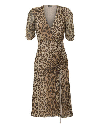 Leopard Tea Dress, MULTI, hi-res