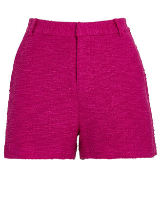 Aneta Tweed Shorts, PINK, hi-res