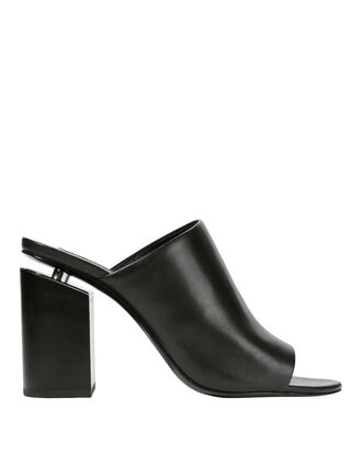 Avery High Heel Slides, BLACK, hi-res