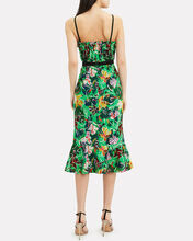 Jennie Ruffle Silk Dress, MULTI, hi-res