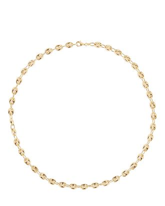Puff Mariner Chain Necklace, GOLD, hi-res