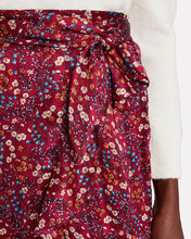 Sky Floral Wrap Skirt, BERRY/FLORAL, hi-res