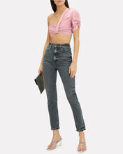 Tomlin Crop Top, PINK, hi-res