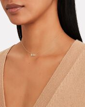 Diamond Mama Initial Necklace, GOLD, hi-res