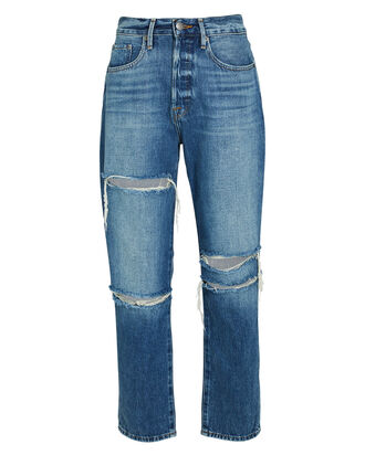 Le Original Straight-Leg Jeans, DENIM, hi-res