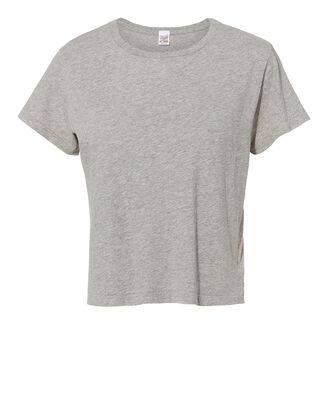The Classic Heather Grey T-Shirt, GREY, hi-res