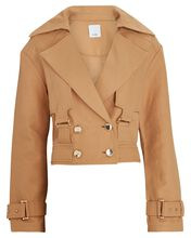 Vermont Double-Breasted Jacket, BEIGE, hi-res