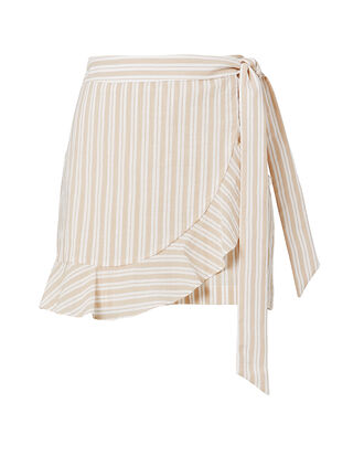 Remy Ruffle Striped Skort, MULTI, hi-res