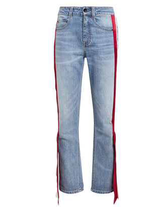 Carlton Side Panel Jeans, LIGHT BLUE DENIM, hi-res