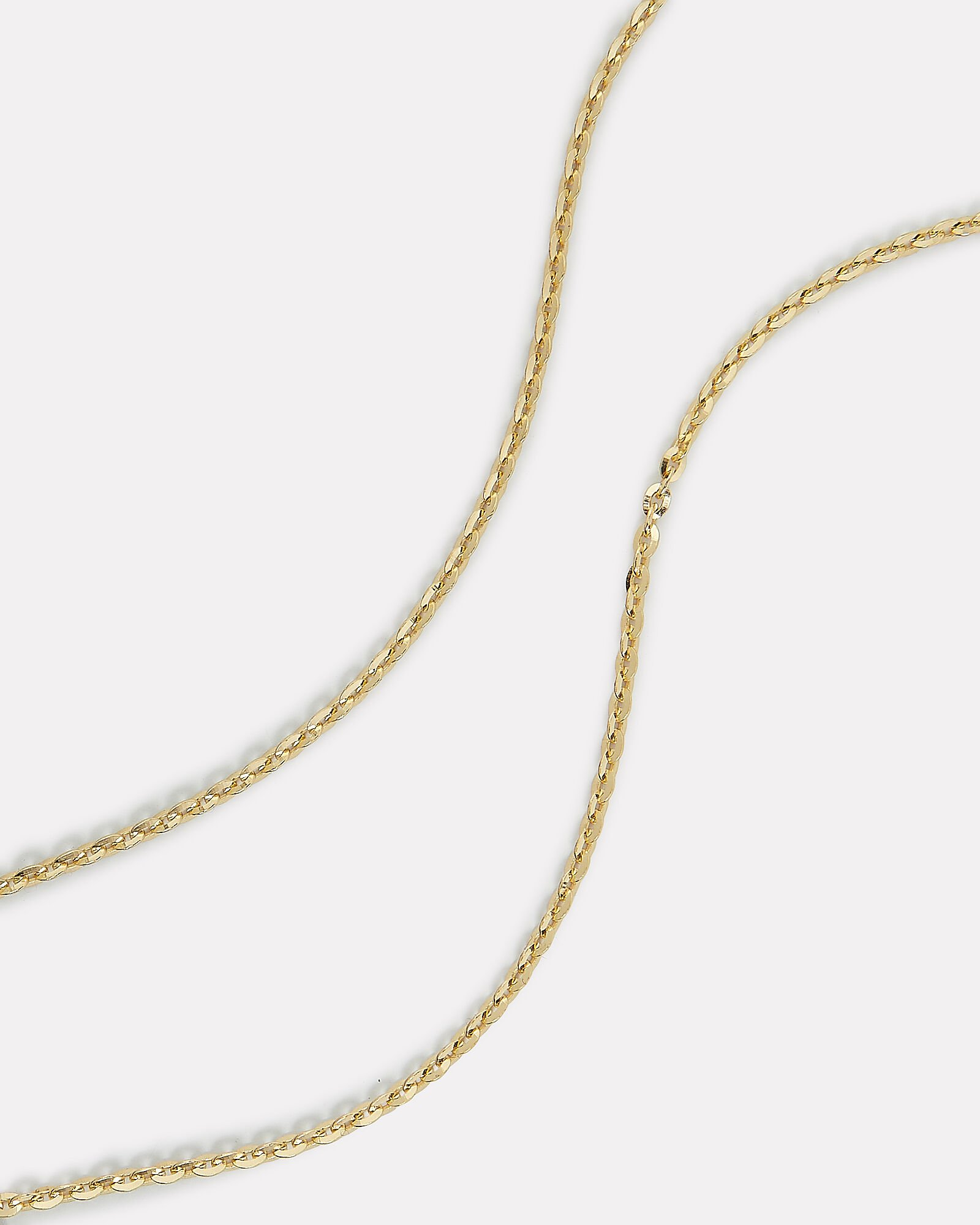 Double Strand Necklace, GOLD, hi-res