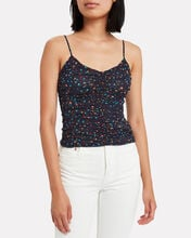 Ruched Floral Camisole, MULTI, hi-res