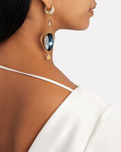 Zenith Mismatched Earrings, GOLD/BLUE, hi-res
