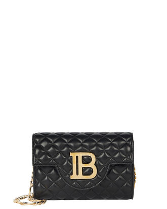 Bbag Quilted Leather Mini Bag, BLACK, hi-res