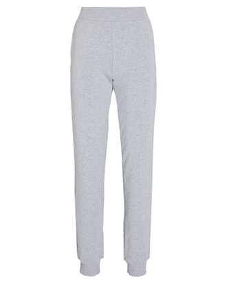 Moss Cotton-Blend Joggers, GREY, hi-res