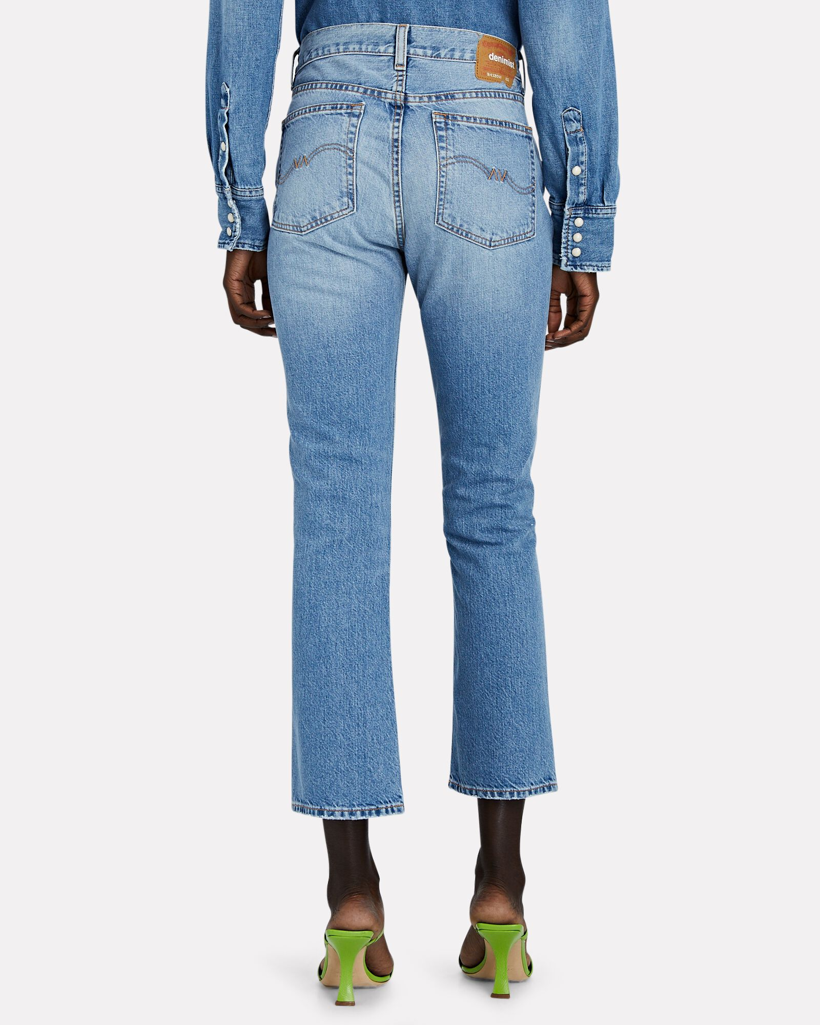Tracer Cropped Flare Jeans, Mote, hi-res