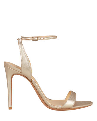 Willow Gold Leather Sandals, LIGHT GOLD, hi-res