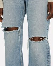 Teaneck Wide-Leg Jeans, LIGHT WASH DENIM, hi-res