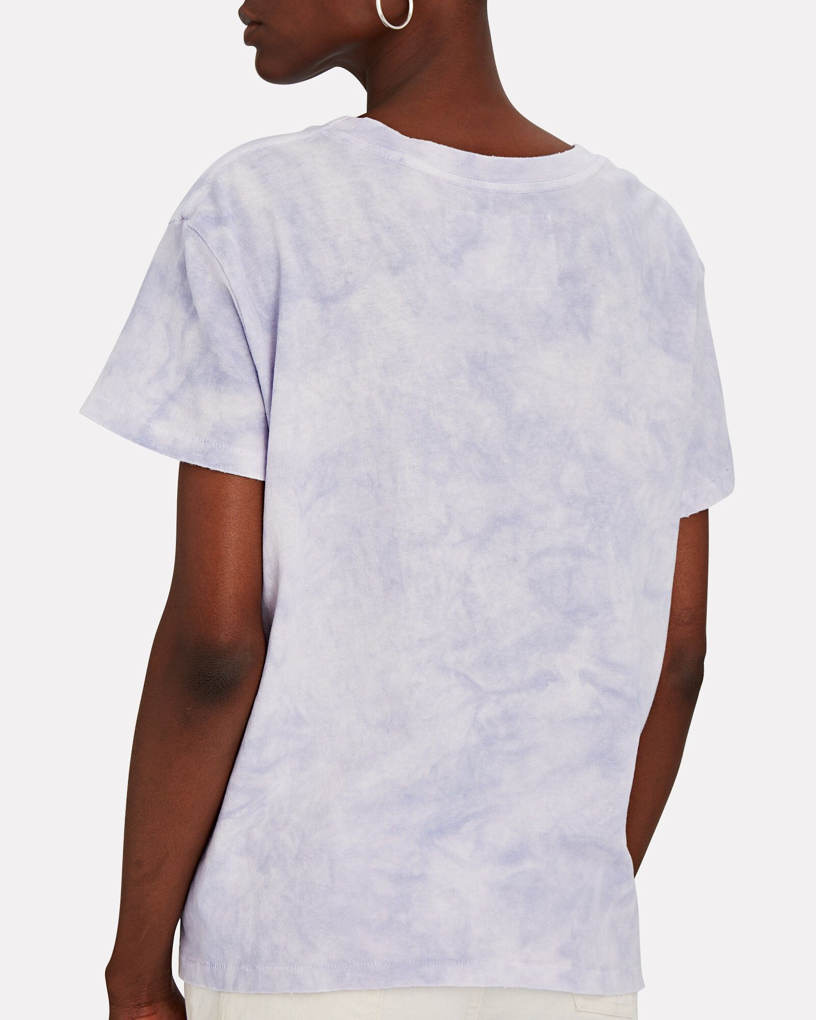 Brady Tie-Dye Cotton Jersey T-Shirt, LIGHT PURPLE, hi-res