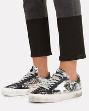 May Rainbow Sequin Low-Top Sneakers, SILVER, hi-res