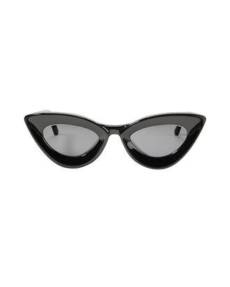 Iemall Cat Eye Sunglasses, BLACK, hi-res