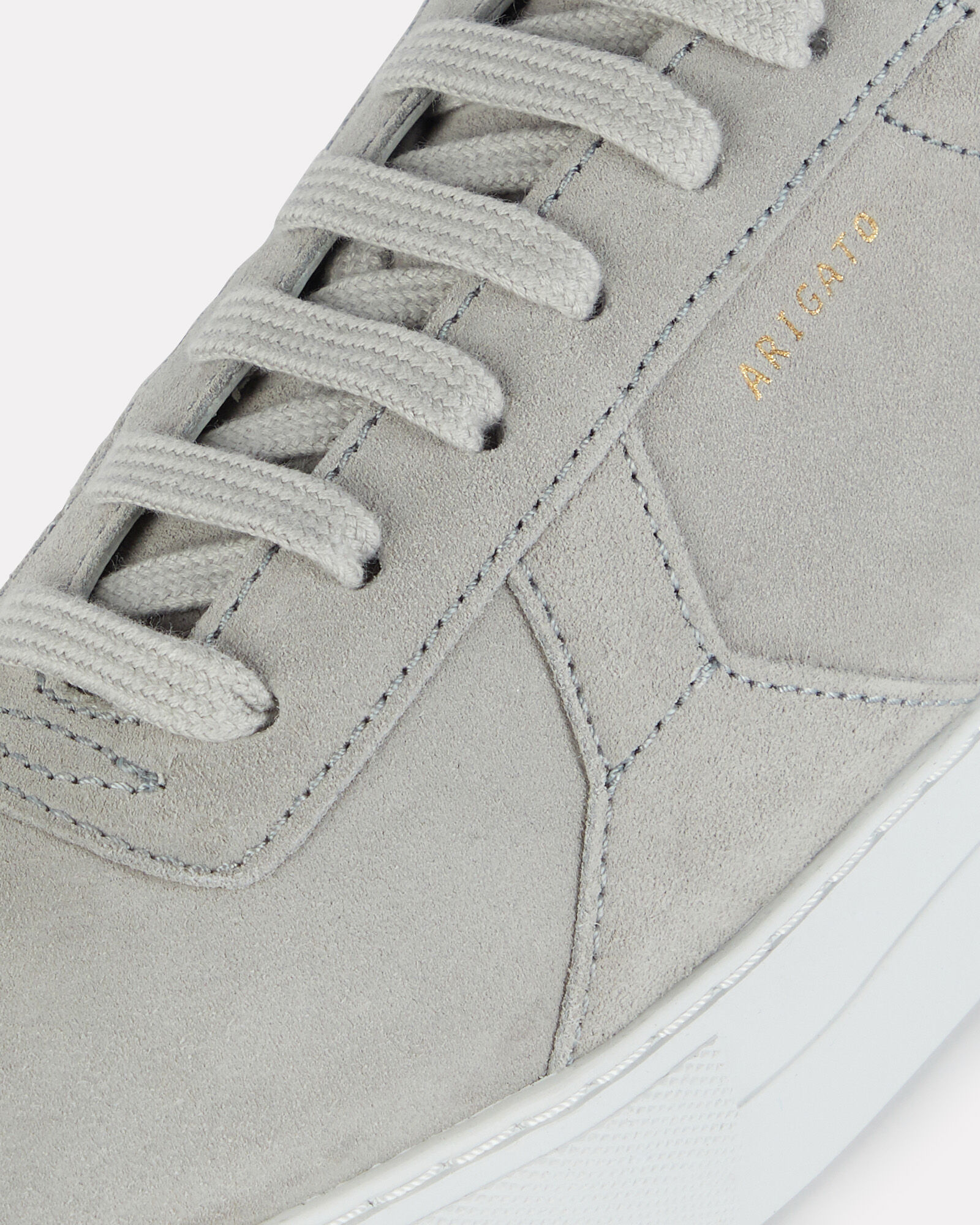 Platform Low-Top Suede Sneakers, GREY-LT, hi-res