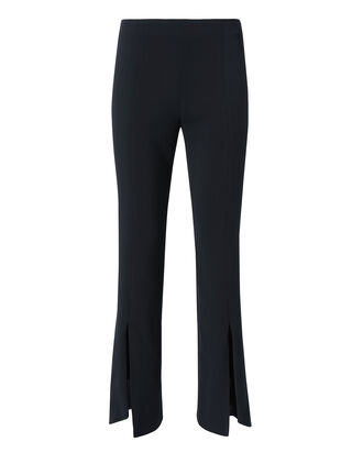Julianne Cascade Hem Crop Pants, BLUE, hi-res