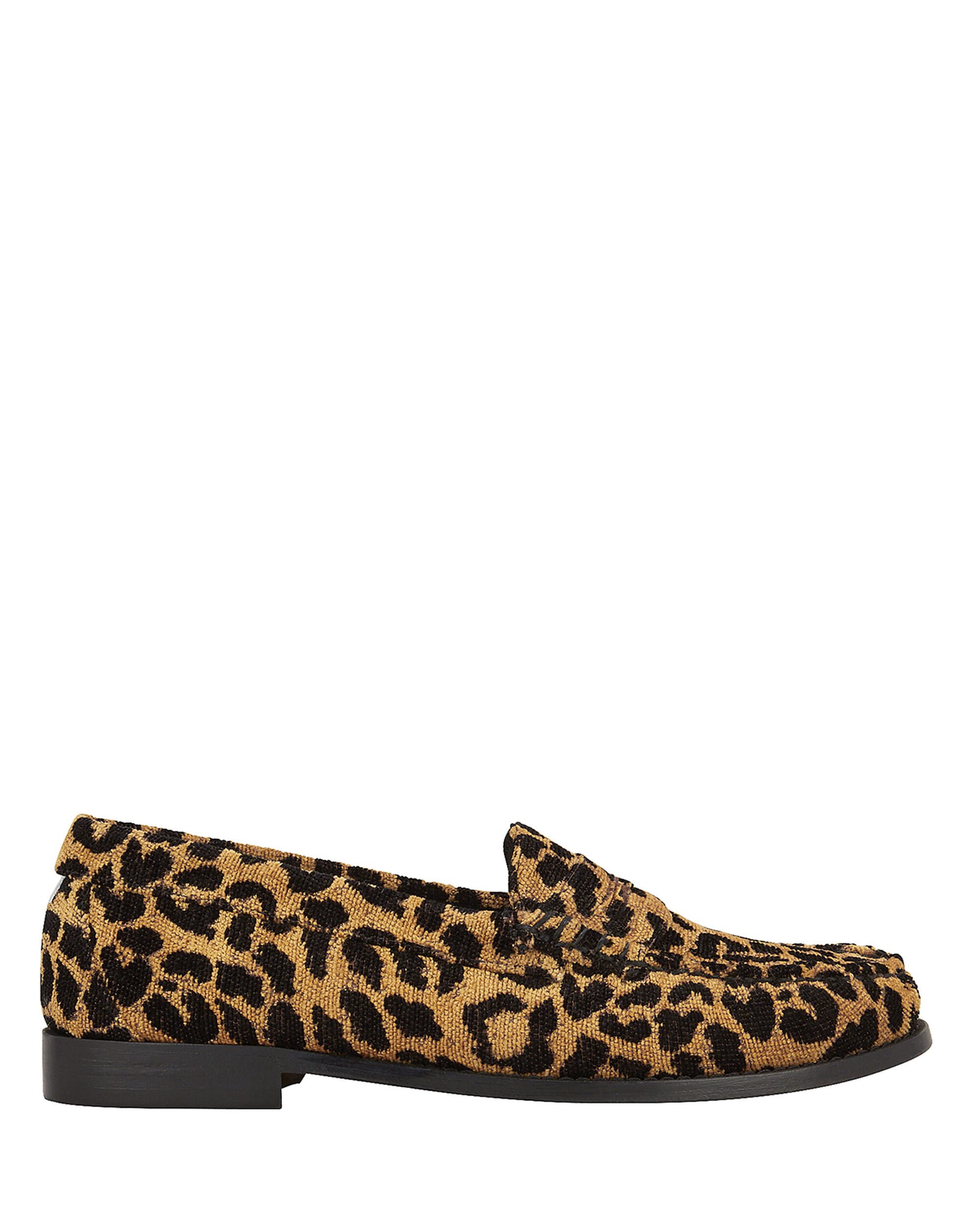 Whitney Leopard Loafers, BEIGE, hi-res