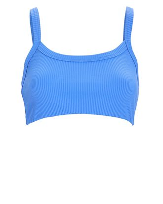 Rib Knit 2.0 Bralette, BLUE, hi-res