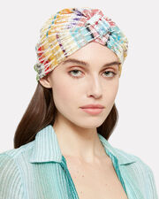 Zig Zag Rainbow Knit Headband, RAINBOW, hi-res