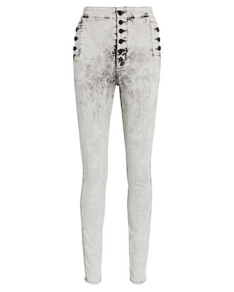 Natasha Sky High Skinny Jeans, GREY, hi-res