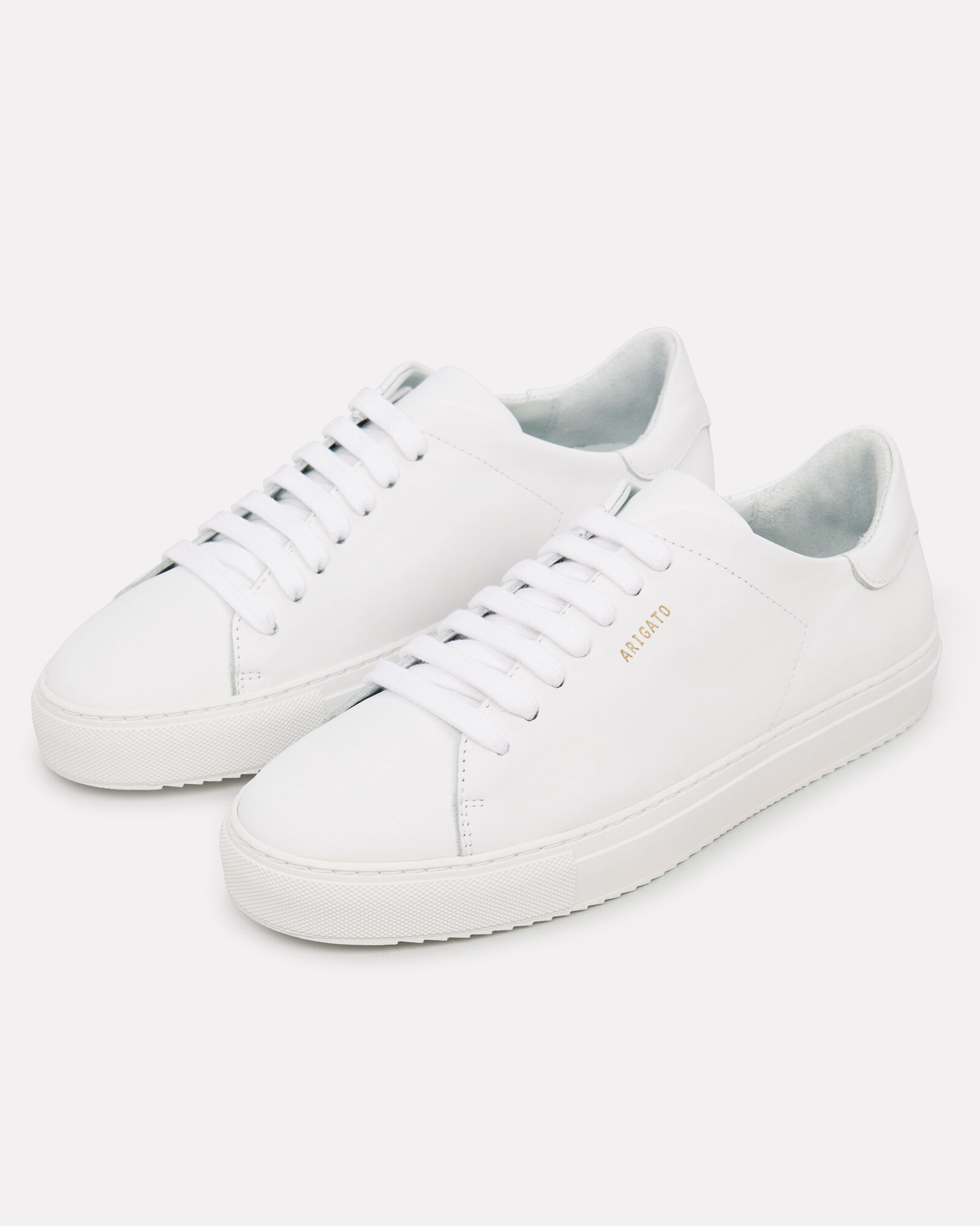 Clean 90 Leather Sneakers, WHITE, hi-res