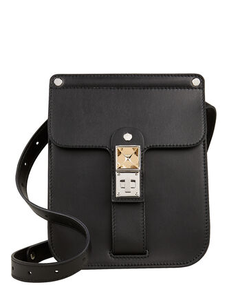 PS11 Convertible Box Bag, BLACK LEATHER, hi-res