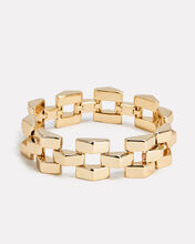 Geometric Power Bracelet, GOLD, hi-res