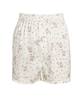 Fifi Silk Paisley Shorts, MULTI, hi-res