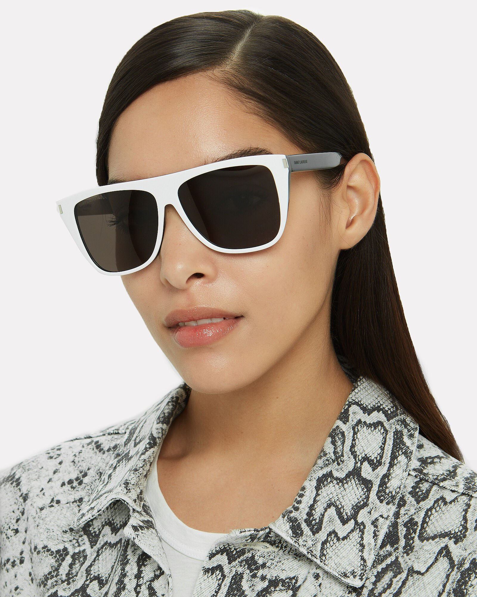 Wayfarer Sunglasses, WHITE, hi-res