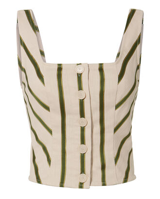 Mirella Striped Bustier, MULTI, hi-res