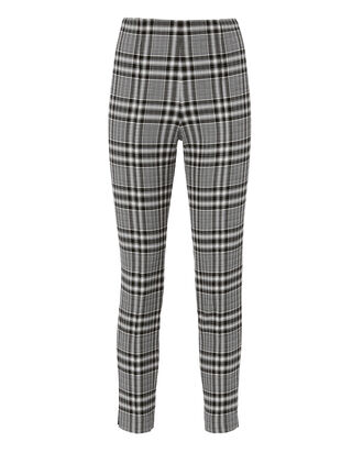 High-Waisted Plaid Pants