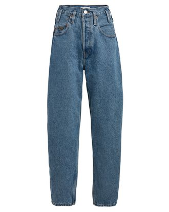 80s Peg Leg Jeans, LIGHT RETRO, hi-res
