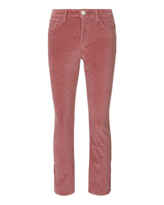 Rosette Velvet Higher Ground Jeans, BLUSH, hi-res