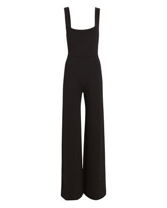 Grado Sleeveless Wide-Leg Jumpsuit, BLACK, hi-res