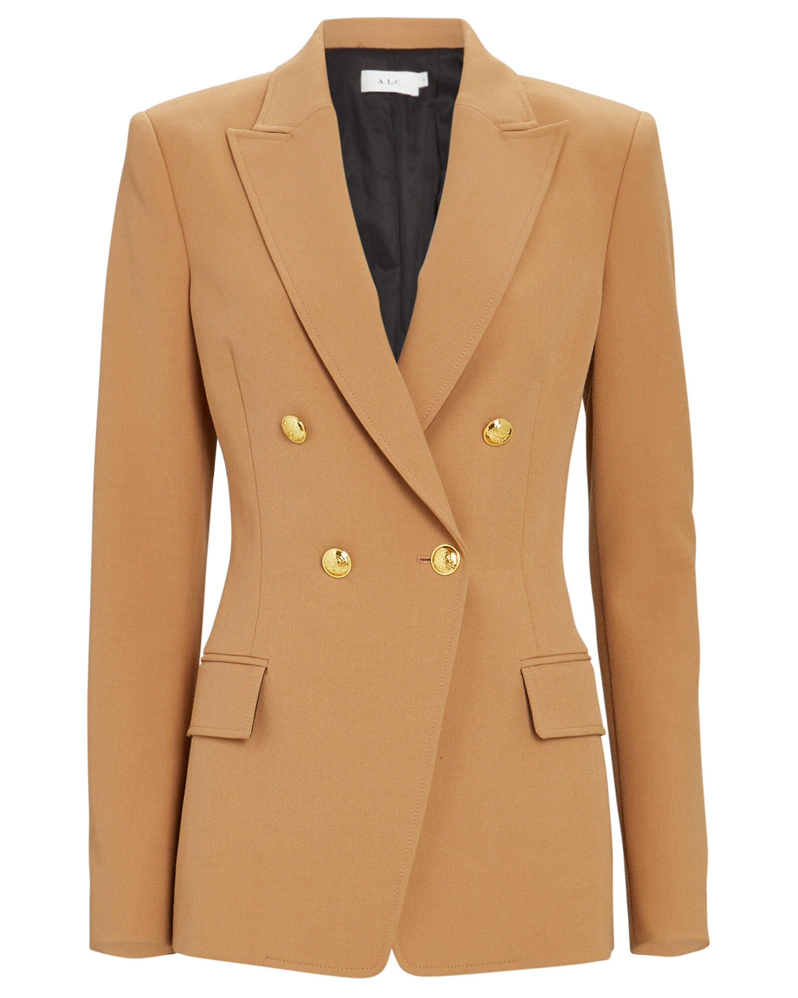Sedgwick Double-Breasted Blazer, BROWN, hi-res
