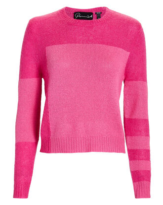 Belle Colorblock Sweater, PINK-DRK, hi-res